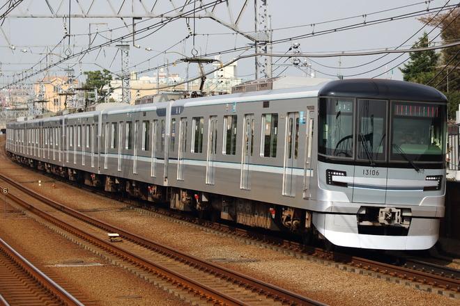 【メトロ】13000系13106F鷺沼工場入場回送