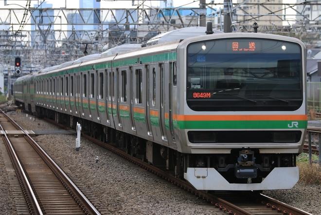 【JR東】E231系ヤマU529編成 東京総合車両センター出場
