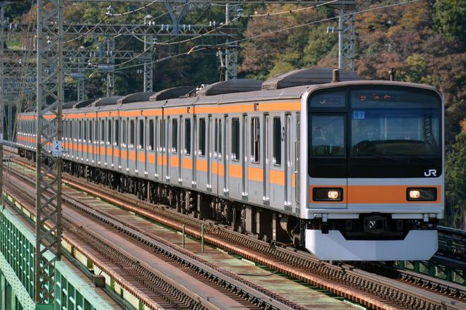【JR東】209系元マト81編成中央本線で試運転