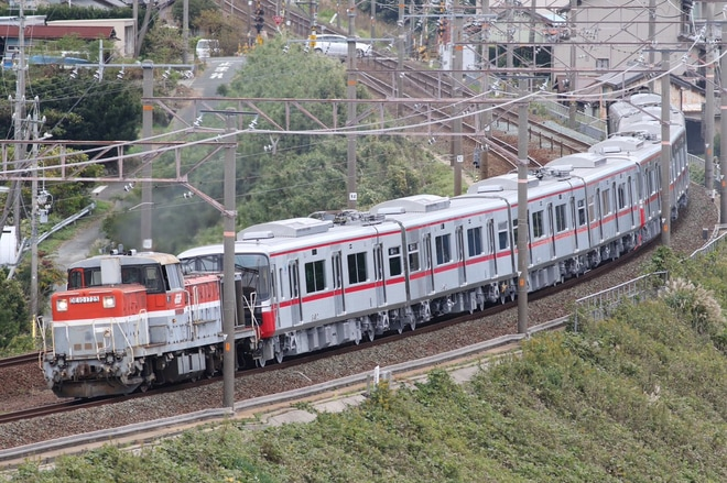【名鉄】3300系3312F/3313F甲種輸送