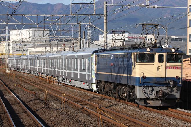 【メトロ】13000系13128F7両 甲種輸送