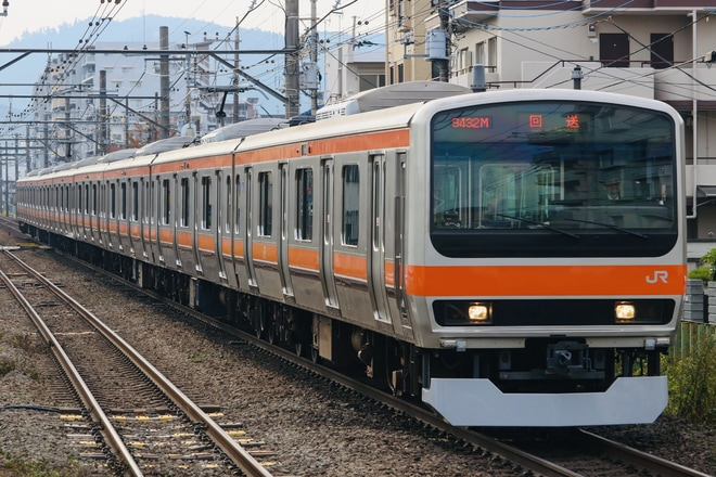 【JR東】E231系元ミツB28編成 長野総合車両センター出場