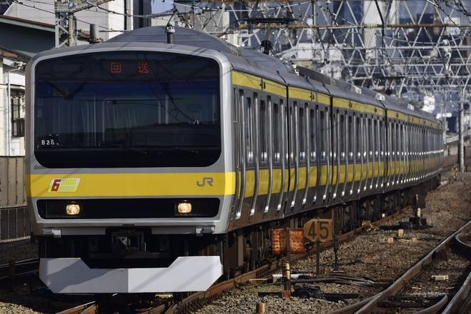 【JR東】E231系ミツB25編成 長野総合車両センター入場回送
