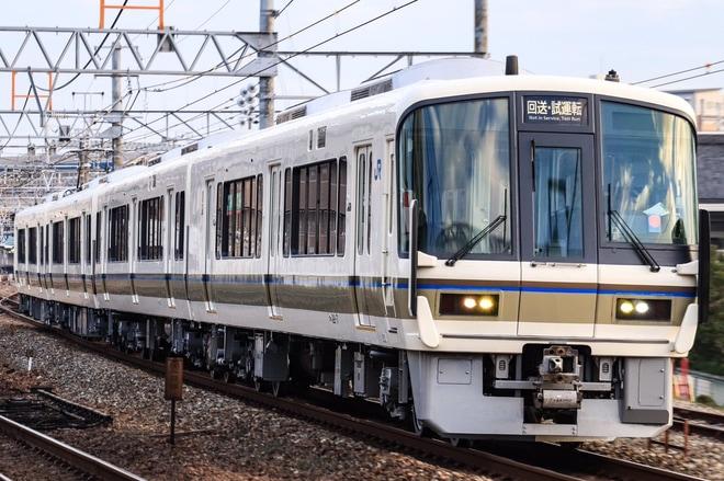 【JR西】221系NA430編成吹田出場し網干へ