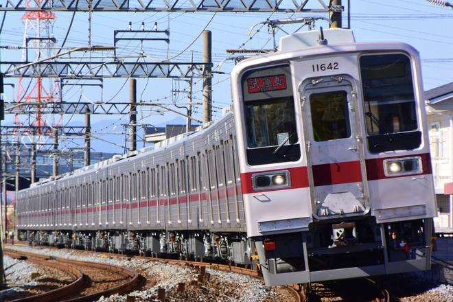 【東武】10030系11642F+11438F川越工場出場試運転