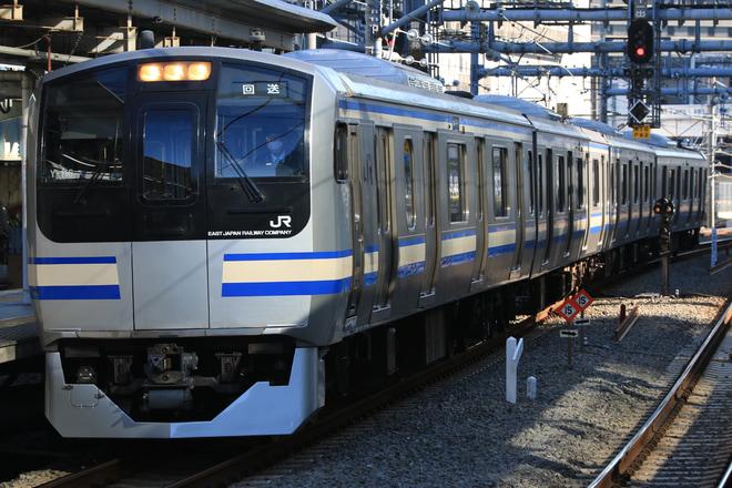 【JR東】E217系クラY-116編成 東京総合車両センター出場