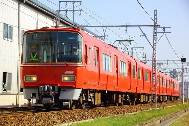 【名鉄】3500系3508F機器更新工事を終えて試運転