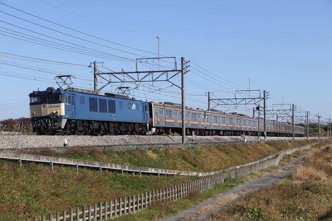 【JR東】205系M12編成 海外譲渡配給