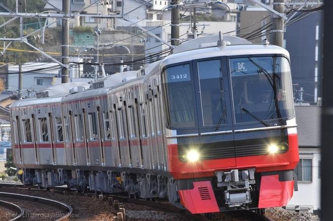 【名鉄】3300系3312F本線試運転