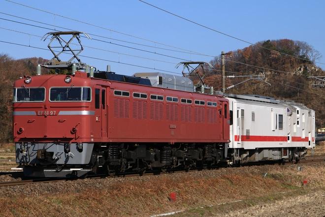 【JR東】マヤ50-5001 新津へ回送