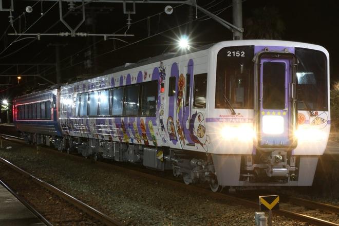 【JR四】2000系2152(ロールパンナ)+2214多度津工場出場