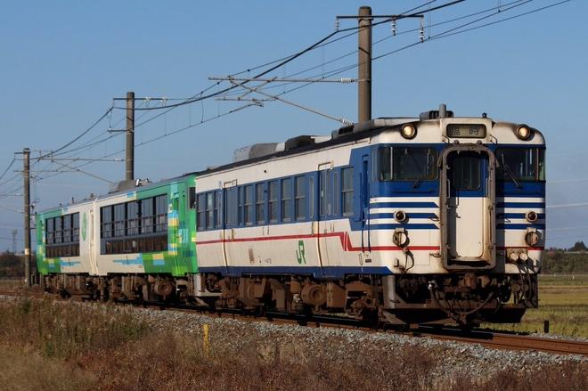 【JR東】快速「風っこ日本海ストーブ号」運行