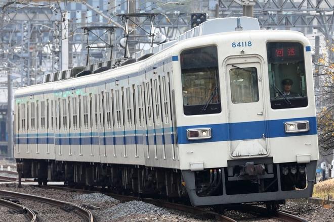 【東武】8000系81118F廃車回送