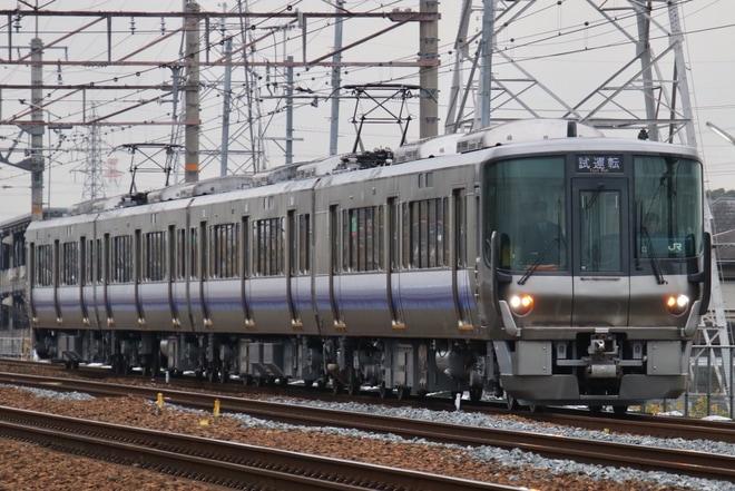 【JR西】223系HE404編成吹田総合車両所出場試運転