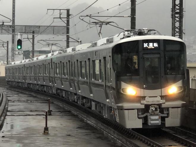【JR西】227系1000番台SD06/SD07/SD08編成出場試運転
