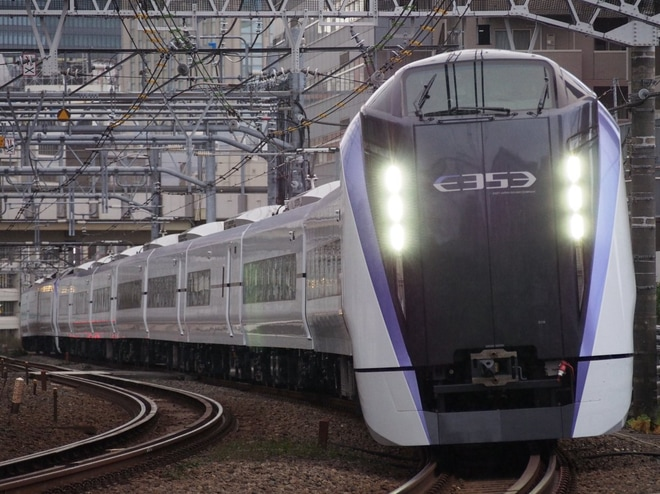 【JR東】E353系S118編成+S207編成J-TREC出場試運転