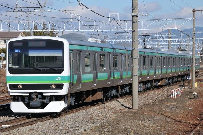 【JR東】E231系マト122編成 長野総合車両センター出場