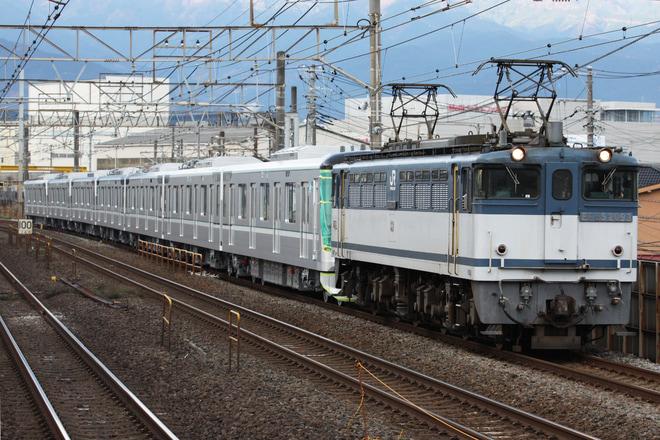 【メトロ】13000系13129F7両 甲種輸送