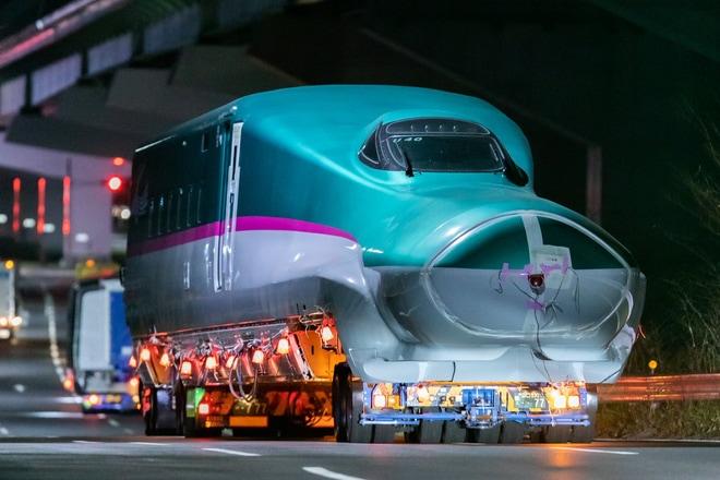 【JR東】E5系U40編成搬入
