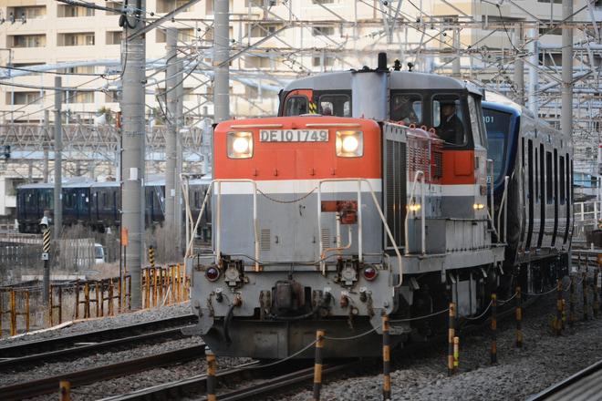【相鉄】12000系12101F甲種輸送