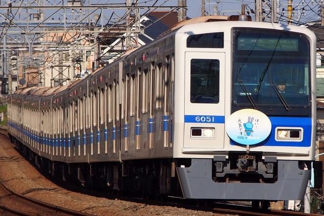 【西武】6000系6151F「NACK5×西武鉄道」仕様に