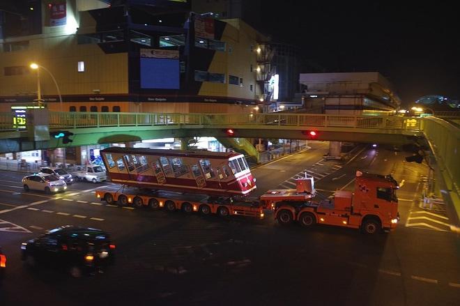 【南海】高野山ケーブルカーコ11・21形客車廃車陸送