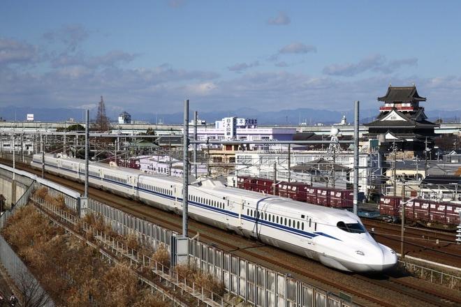 【JR海】N700S系J0編成(8両) で名古屋へ