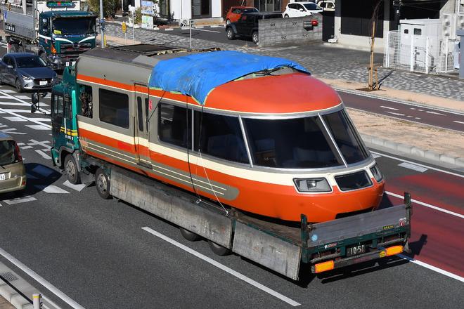 【小田急】7000形7004F(LSE) 7804号車 搬出