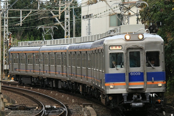 【南海】6000系6009F千代田工場出場試運転