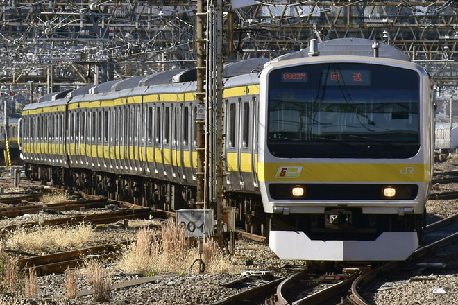 【JR東】E231系ミツB7編成武蔵小金井回送