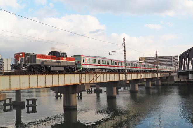 【東武】70000系71711F甲種輸送
