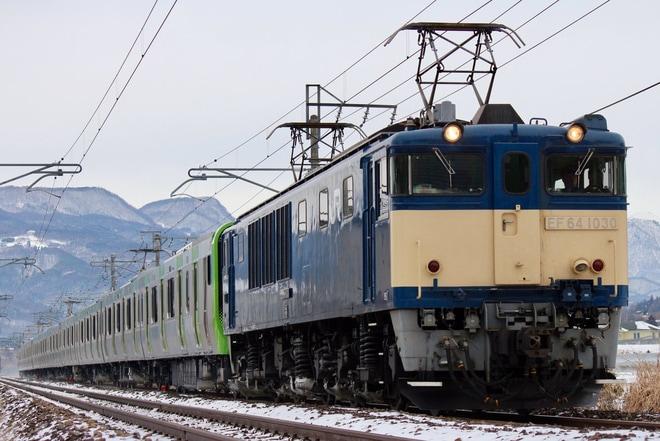 【JR東】E235系トウ31編成 配給輸送