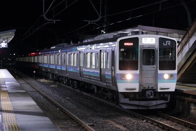 【JR東】八高線の霜取り列車が211系に