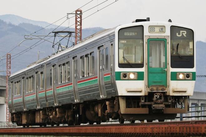 【JR東】719系H-40編成郡山総合車両センター入場