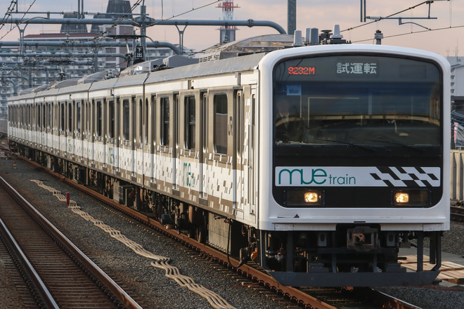 【JR東】209系「MUE-Train」 中央本線試運転(201901)