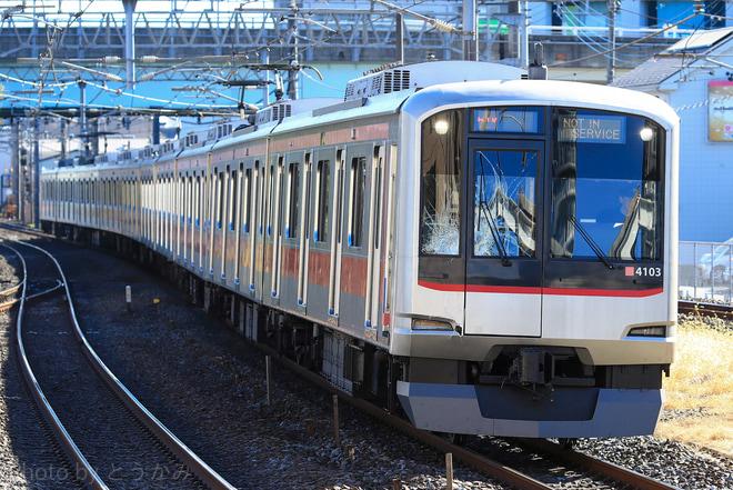 【東急】5050系4103F 人身事故発生に伴う臨時回送