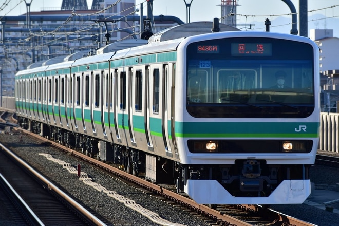 【JR東】E231系マト123編成長野総合車両センター出場