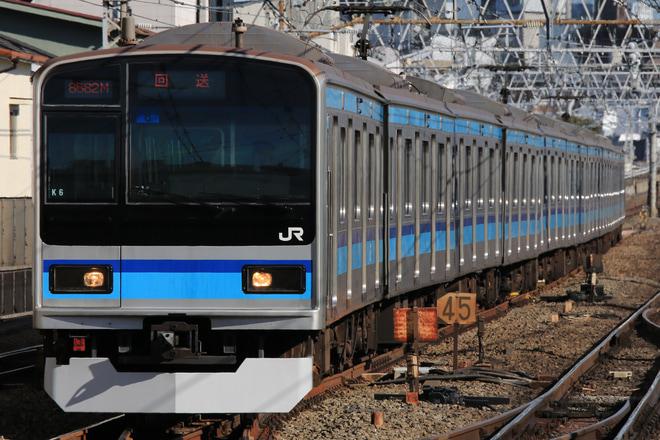 【JR東】E231系ミツK6編成返却回送