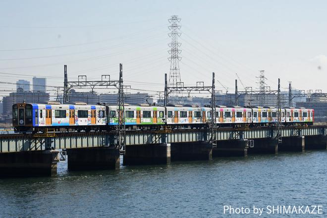 【阪神】阪神なんば線10周年記念ラッピング