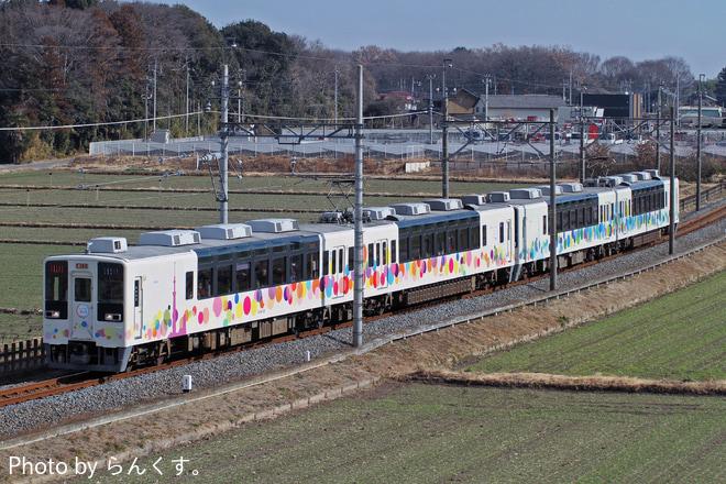 【東武】スカイツリートレイン使用の小泉線入線団体列車 運転