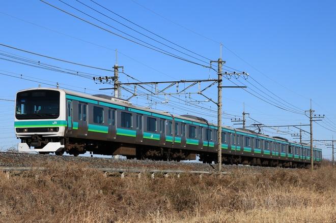 【JR東】E231系マト124編成 長野総合車両センター入場