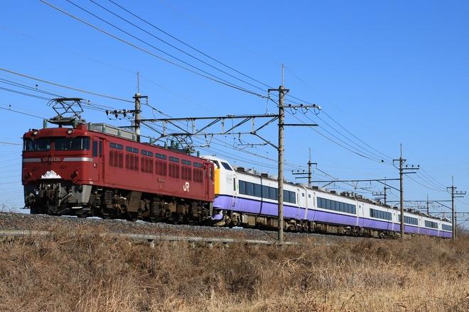 37位【JR東】485系3000番台A6編成 郡山へ配給輸送(アクセス数:4890)