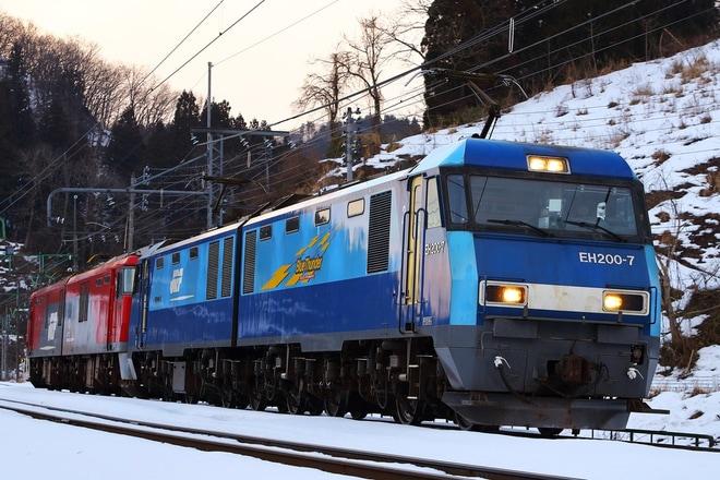 【JR貨】EH500-72大宮車両所入場配給