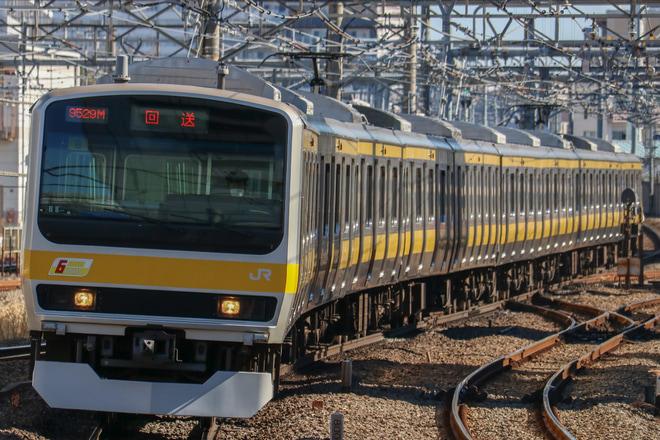 【JR東】E231系ミツB8編成 配給に向けた送込回送