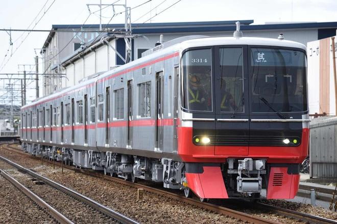 【名鉄】3300系3314F新製試運転