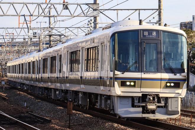 【JR西】221系B13編成吹田総合車両所出場回送