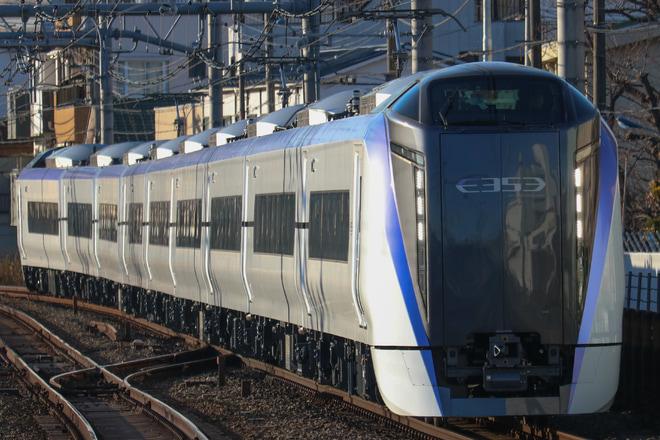 【JR東】E353系モトS116編成 尾久疎開回送