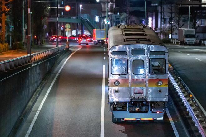 16位【東急】デハ8539・0805号車廃車陸送(アクセス数:5942)