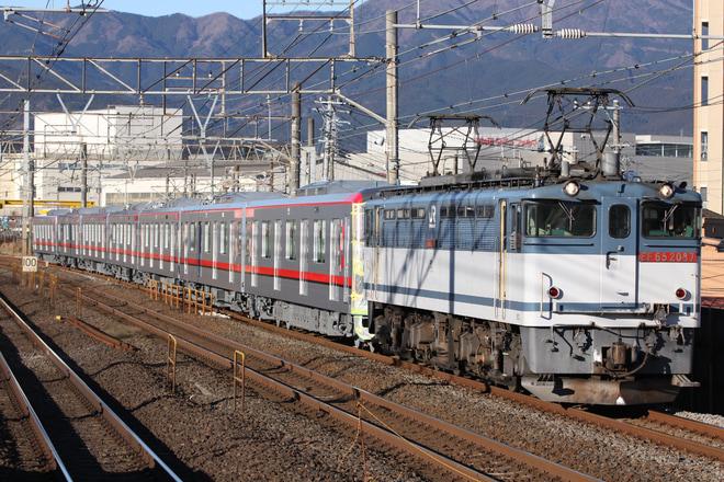 【東武】70000系71712F 甲種輸送