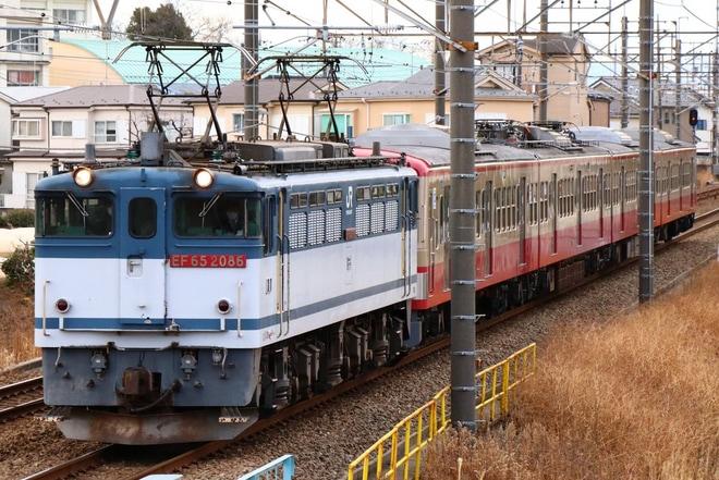 39位【西武】新101系253F(赤電)甲種輸送(アクセス数:4851)